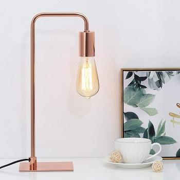 BEST ROSE GOLD TASK LAMP