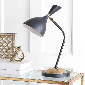 BEST SMALL BLACK AND GOLD DESK LAMP