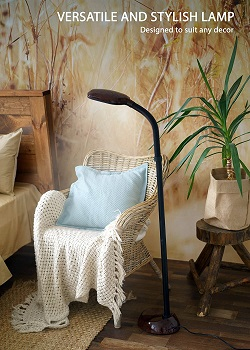 BEST SMALL FLOOR LAMP FOR READING CHAIR