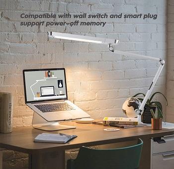 BEST SWING ARM MODERN WHITE DESK LAMP