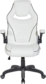 BEST TALL WHITE LEATHER ERGONOMIC OFFICE CHAIR