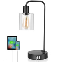 BEST SMALL ABLE LAMP WITH USB PORT AND OUTLET picks