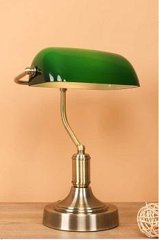 BEST VINTAGE BEDSIDE LAMP WITH CHARGING STATION