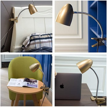 BEST VINTAGE CLIP-ON HEADBOARD LAMP