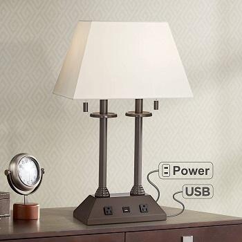 BEST VINTAGE DESK LAMP WITH OUTLET