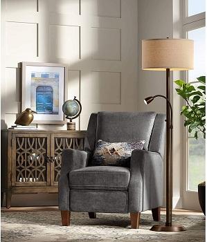 BEST VINTAGE FLOOR LAMP FOR READING CHAIR