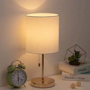 BEST WHITE AND GOLD TASK LAMP