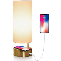 BEST WIRELESS BEDSIDE LAMP WITH CHARGING STATION picks