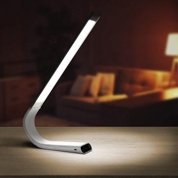 BEST WIRELESS MODERN WHITE DESK LAMP