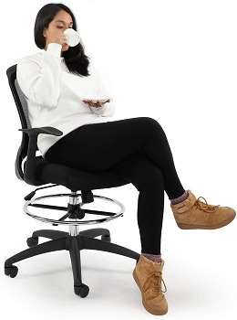 BEST WITH ARMRESTS HIGH-DRAFTING CHAIR