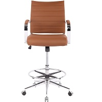 BEST WITH ARMRESTS MID-CENTURY DRAFTING CHAIR Summary