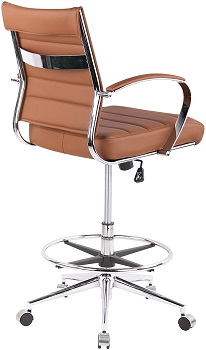 BEST WITH ARMRESTS MID-CENTURY DRAFTING CHAIR