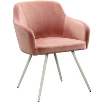 BEST WITH ARMRESTS PINK DESK CHAIR NO WHEELS Summary