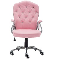 BEST WITH ARMRESTS PINK ERGONOMIC OFFICE CHAIR Summary