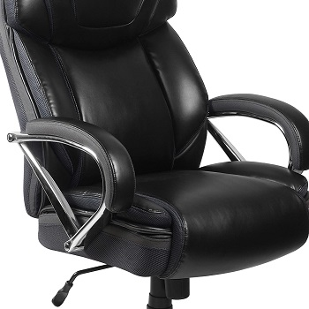 BEST WITH ARMRESTS TALL SWIVEL CHAIR