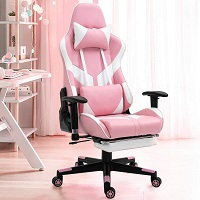 BEST WITH BACK SUPPORT PINK ERGONOMIC CHAIR Summary