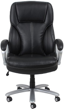 BEST WITH BACK SUPPORT TALL OFFICE CHAIR WITH ARMS