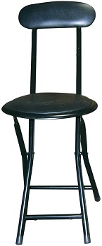 BEST WITH BACK SUPPORT TALL PORTABLE STOOL