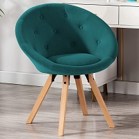 BEST WITH BACK SUPPORT TEAL DESK CHAIR NO WHEELS Summary