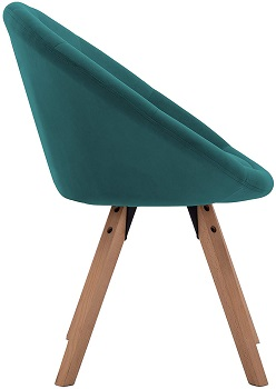 BEST WITH BACK SUPPORT TEAL DESK CHAIR NO WHEELS