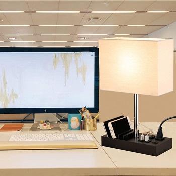 Briever USB Table Lamp