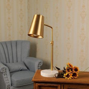 CO-Z Gold Desk Lamp with LED