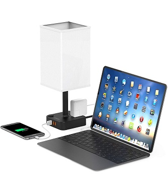 COZOO USB Bedside Table & Desk