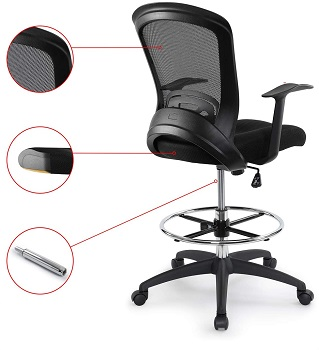 Chairman BL-0007C Office Chair