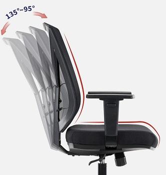 Clatina Ergonomic Swivel Chair