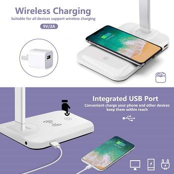 FURANDE Desk Lamp with USB