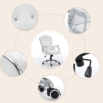 Fubas Swivel Leather Chair
