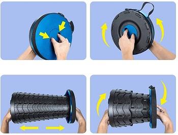 Hesanzol Portable Telescoping Stool