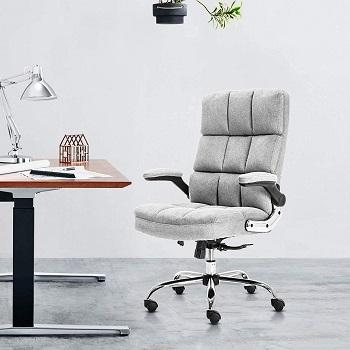 Kerms Velvet Office Chair