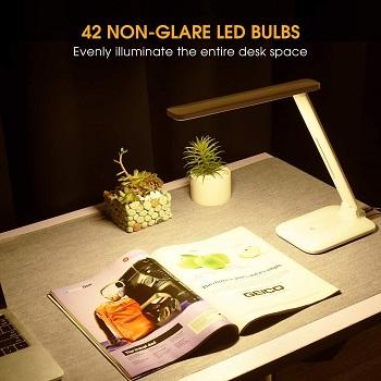 LITOM LED Desk Lamp, LITOM 2019 Upgraded Office