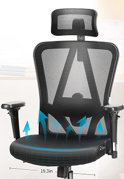 MFavour Swivel Ergonomic Chair