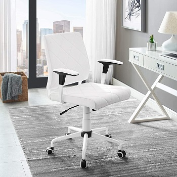 Modway Modern Leather Chair