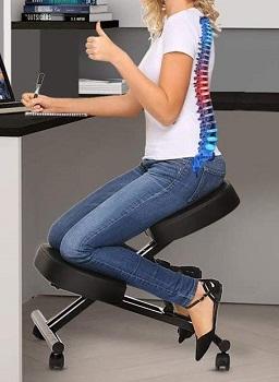 Papafix Adjustable Desk Stool