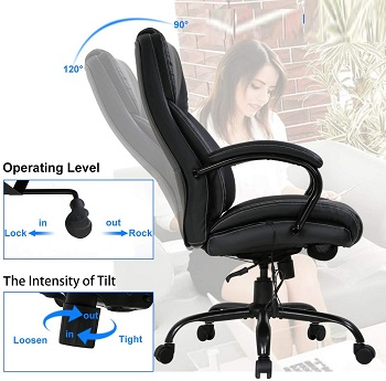 Payhere Rolling Swivel Chair