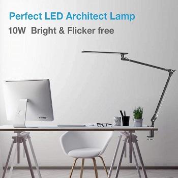 Phive LED Desk Lamp, Architect Task