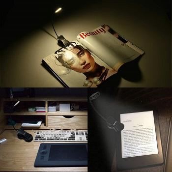 Rechargeable Book Light, Merisky