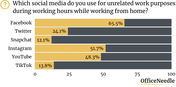 SOCIAL MEDIA USE UNRELATED TO WORK PURPOSES