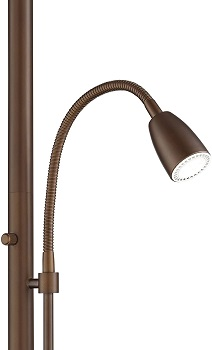 Traverse Modern Floor Lamp with Reading