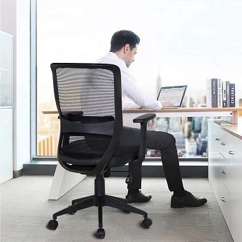 Vecelo Computer Desk Chair