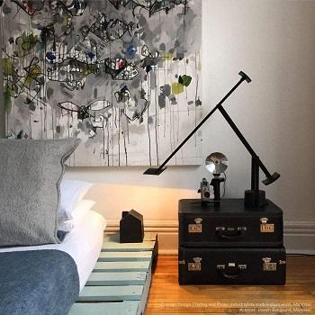 Artemide Tizio Table Lamp Black