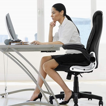 B2C2B Leather Executive Chair