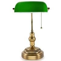 BEST ANTIQUE BRASS BANKERS LAMP picks