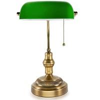 BEST ANTIQUE GREEN GLASS DESK LAMP picks