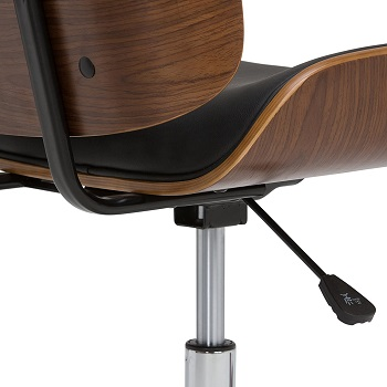 BEST ARMLESS WOODEN EXECUTIVE CHAIR