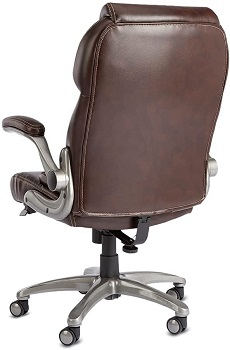 BEST BACK SUPPORT LEATHER OFFICE CHAIR WITH LUMBAR SUPPORT
