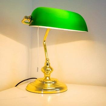BEST BANKER'S YELLOW DESK LAMP